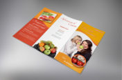 Trifold Healty food